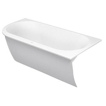 Duravit Darling New  Ванна 1900х900 мм, акриловая, угол справа, с панелью и ножками,с 2 наклонами для спины, цвет белый