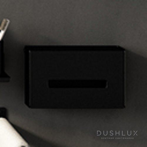 Agape Mach 2 Держатель для бумажных полотенец подвесной 24.3x15x8.2 см, цвет: черный