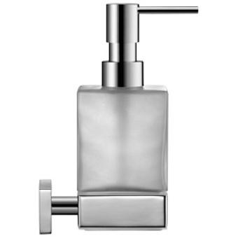 Duravit Karree Подвесной дозатор для мыла, мат.колба, цвет держателя: хром