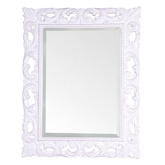 TW Зеркало в раме 75х95см, цвет рамы белый глянцевый
