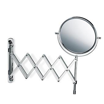 Decor Walther SPT 18 Косметическое зеркало 17см, подвесное, увел. 5x, цвет: хром