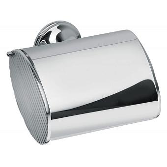 Bongio Fleur blanc Держатель туалетной бумаги, подвесной, цвет: хром