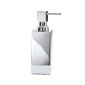 Decor Walther Cube DW 395 Дозатор для мыла, настольный, цвет: хром