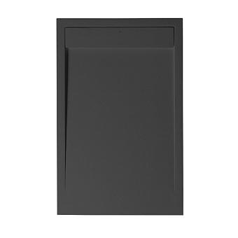 Noken Zen Душевой поддон 120x80см, Light Stone, цвет: чёрный
