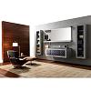 Karol Xil comp. №1, комплект подвесной мебели 180 см. цвет: Grigio Chiaro Lucido + Ametista Opaco