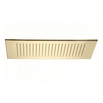 Bongio Soffioni Верхний душ прямоугольный 412х600 мм, цвет: золото