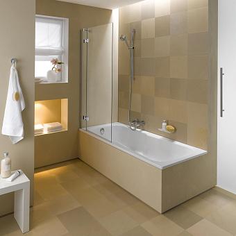 Bette Set Ванна встраиваемая 165х75х38 см, BetteGlasur® Plus, цвет: белый