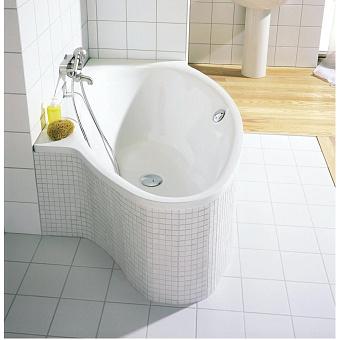 Bette Pool I Ванна 161х102х45 см, левосторонняя, BetteGlasur® Plus, цвет: белый