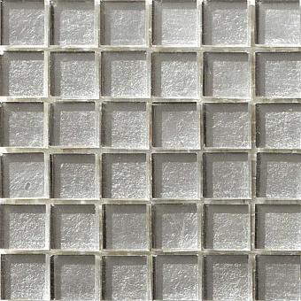 Mosaico+ Doro Мозаика 32,7x32,7см., универсальная, стекло, цвет: white gold smooth