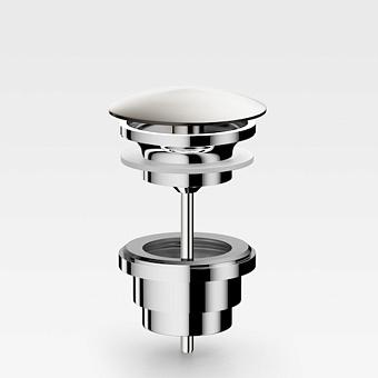 "Armani Roca Baia Донный клапан 1""1/4 для раковин, цвет: brushed steel"