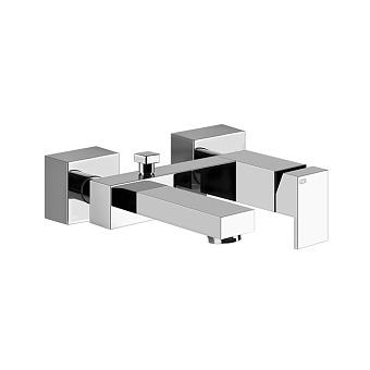 Gessi Rettangolo Смеситель однорычажный для ванны с автоматическим переключателем ванна/душ, цвет: хром