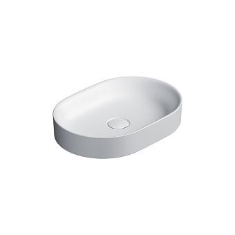 Catalano Horizon Раковина накладная 50х30хh:8.5см., без перелива, цвет: белый матовый