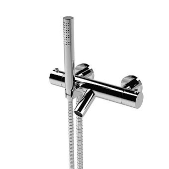 Stella Bamboo Термостатический смеситель для ванны 3267TM306 с ручным душем, цвет: хром