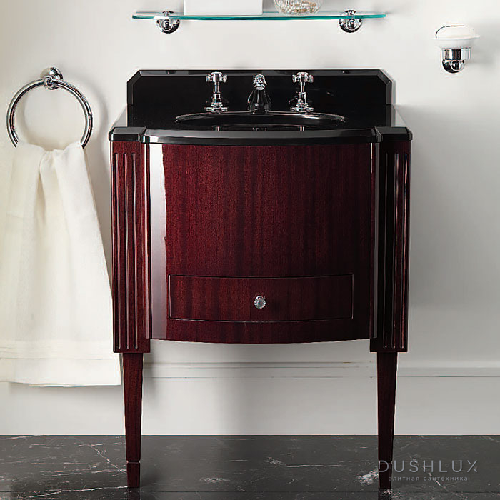 Devon&Devon Domino,  Комплект мебели, Цвет: mahogany, мрамор Nero Assoluto