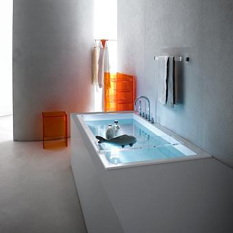 Laufen Kartell Ванна 1700x860x440мм, встраиваемая, угловая, DX, с слив-переливом с подсветкой,материал: композит, цвет: белый