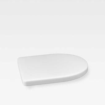 Armani Roca Island Сиденье для биде, с микролифтом, лакированное, цвет: off-white