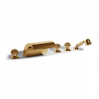 Bongio Radiant, Смеситель для ванны, цвет: золото