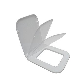 Azzurra Hera Крышка сиденье для унитаза 46,5х38х0,2 см, с микролифтом, цвет белый