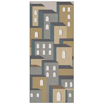 Ornamenta Operae Керамическая плитка 120х278см, настенная, декор: Town Beige