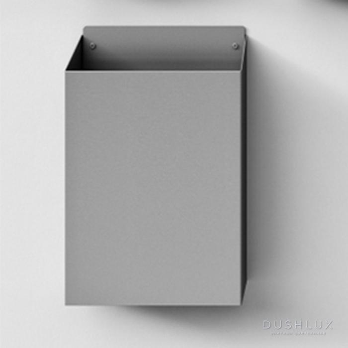 Agape Mach 2 Корзина для бумаги подвесная 36.6x14.6x53.8 см, цвет: сатин