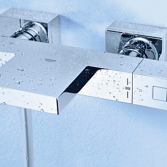 Grohe Grohtherm Cube Термостат для ванны, цвет: хром