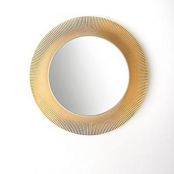 Laufen Kartell Зеркало круглое d=78см, настенное, без подсветки, цвет: золотой