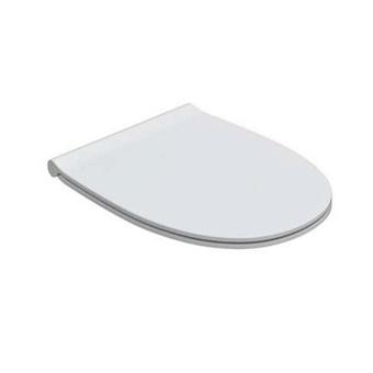 GLOBO 4ALL Сиденье для унитаза, цвет: белый/хром (микролифт)