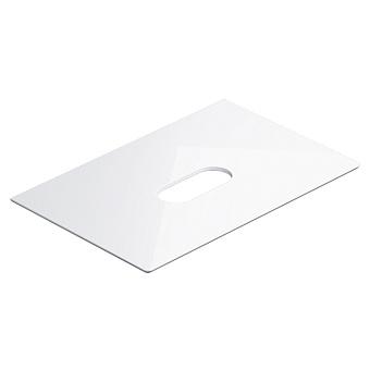 Catalano Horizon Столешница керамическая 75х25хh11см, подвесная/накладная, цвет: белый глянцевый