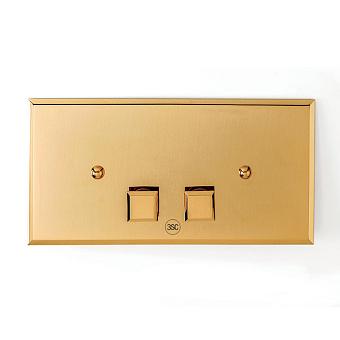3SC SQUARE pLAQUE Клавиша смыва для бачков Geberit UP320/720, 33*2,5*h17, материал: латунь, цвет: золото 24к.