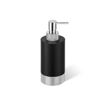 Decor Walther Club SSP1 Дозатор для мыла, настольный, цвет: черный матовый / хром