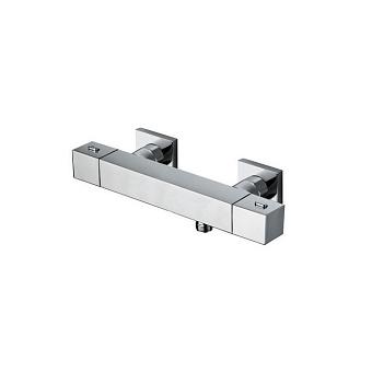 Cristina Quadri Смеситель термостатический для ванны, 2 отв., цвет: хром