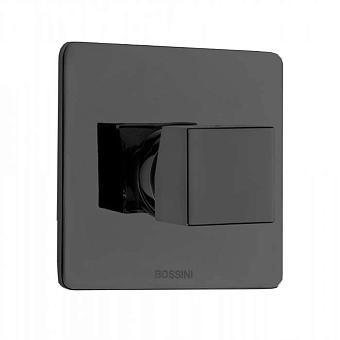 Bossini Cube Смеситель для душа на 1 выход , цвет:  черный матовый