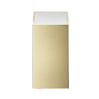 Decor Walther Cube DW 352 Баночка универсальная 4x4x8см, цвет: золото матовое