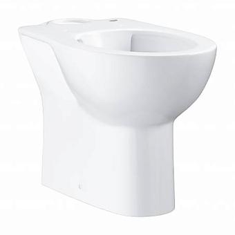 Grohe Bau Ceramic Унитаз 62x36 см, напольный, слив в стену, цвет: белый