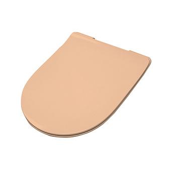 Artceram FILE 2.0 Сиденье для унитаза, супер тонкое, быстросьемное с микролифтом , цвет arancio cammeo