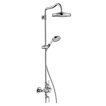 AXOR Montreux, Showerpipe с термостатом и верхним душем 1jet, цвет: хром