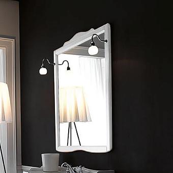 KERASAN Retro Зеркало в деревянной раме 92xh116см, цвет: matt