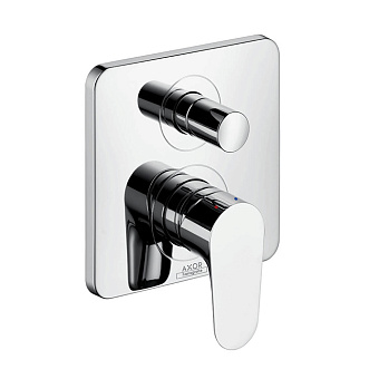 Axor Citterio M Встраиваемый смеситель для ванны однорычажный, цвет: хром