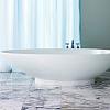 Victoria + Albert Napoli, Ванна 190х84.5 см, quarrycast, Цвет: белый