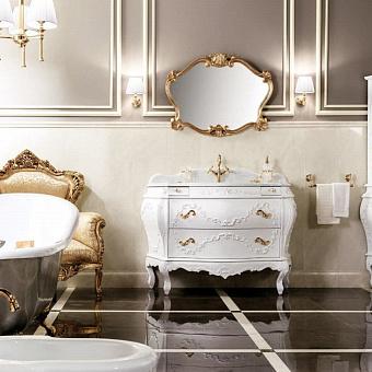 Gaia Doge Комплект мебели 132x61x84 см, белый / золото