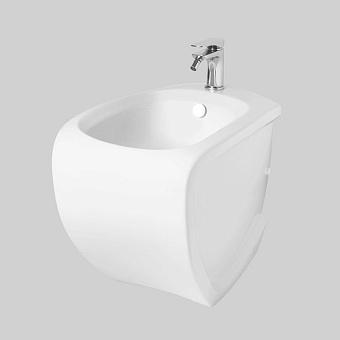 Artceram/Hidra HI-LINE Биде  напольное 38х55 см, с 1 отв под смеситель,  с крепежом в комплекте, цвет белый
