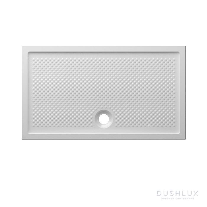 Globo Docciaviva Керамический душевой поддон 80х140х6.5 см, цвет белый
