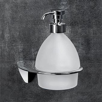 Colombo Khala Дозатор для жидкого мыла, подвесной, цвет: хром