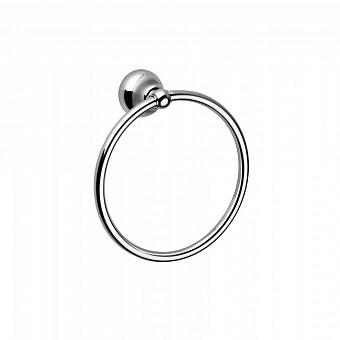 Полотенцедержатель-кольцо Bongio Axel, подвесной монтаж, цвет: хром