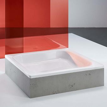 BETTE Душевой поддон квадратный 90х90хh15см, D52 мм, c покрытием антислип, цвет белый