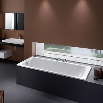 Bette Select Ванна с шумоизоляцией 170х75х42 см, BetteGlasur® Plus, цвет: белый