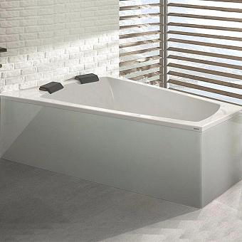 Hoesch Largo Ванна встраиваемая 180х140х66см, SX, с гидро и аэромассажем Deluxe Whirl+Air, цвет: белый