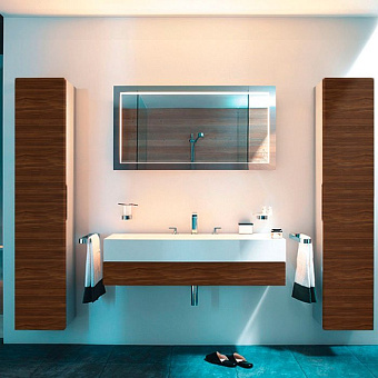 Keuco Edition 300 Комплект мебели 125x52.5х15.5 см, грецкий орех