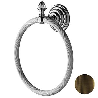 Devon&Devon Diamond Полотенцедержатель - кольцо, цвет: бронза