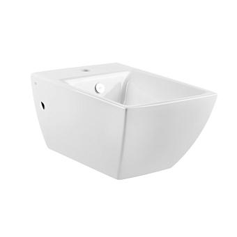 Gessi Mimi Биде подвесное 54.5х36.2см, с 1 отверстием под смеситель, с сифоном, цвет: белый